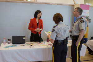Pleasant chat with the RCMPs