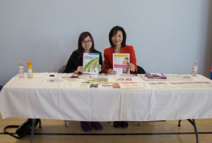 Libra Nutrition's CEO Registered Dietitian Amy Yiu and Project Coordinator Jessica Wu